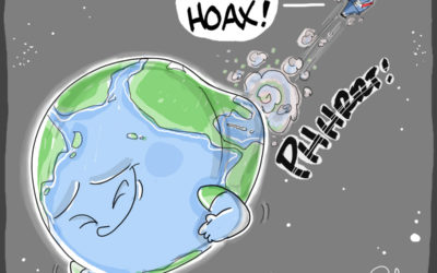 Global warming up