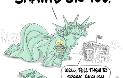""" Give me your tired, your poor, your huddled masses yearning to be free.."""